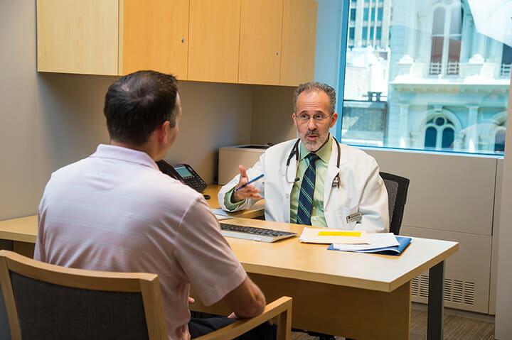 executive health exam follow-up