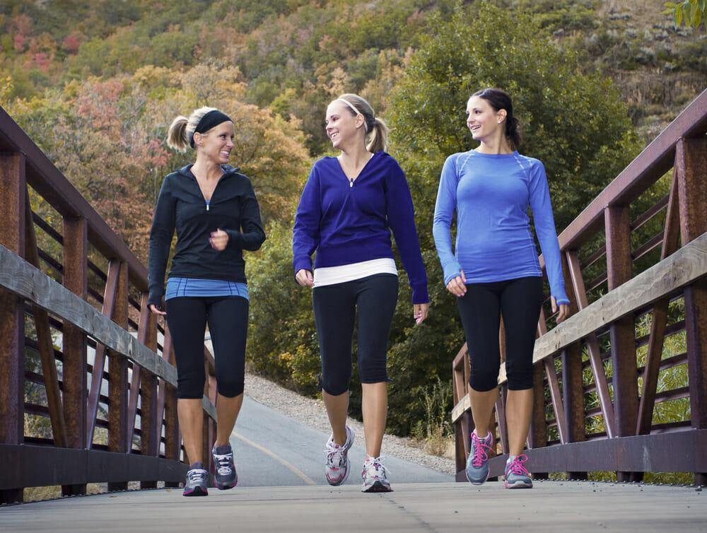 3 Friends Walking